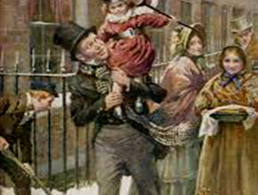 Photo of Old Scrooge A Christmas Carol in Five Staves