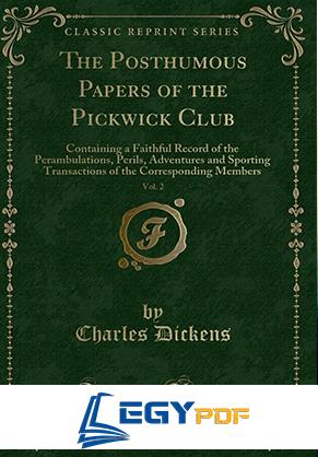 صورة The Posthumous Papers of the Pickwick Club-v1